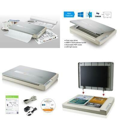 Ebay Link Ad Plustek A3 Flatbed Scanner Os 1180 11 7x17 Large Format Scan Size For Blueprin Scanner Large Format Ebay