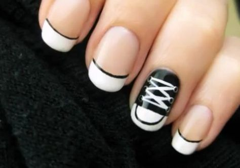 Lace-Up Nails