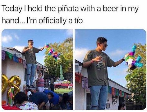 Hispanics Be Like On Instagram Hispanic Growinguphispanic Pinata Tio Hispanicsbelike Latina Lati Mexican Funny Memes Funny Spanish Memes Mexican Jokes