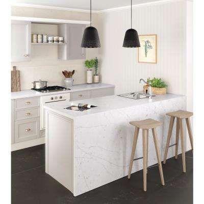 White Silestone Caesarstone Cambria Quartz Countertops