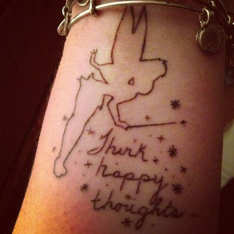 Think happy thoughts design
