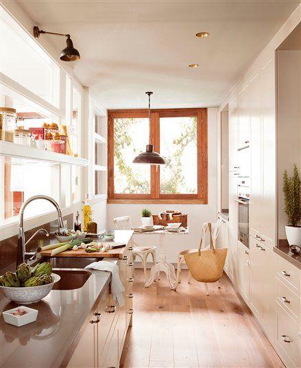 Como Ganar Metros En La Cocina Para Poner Una Mesa Decoracion De