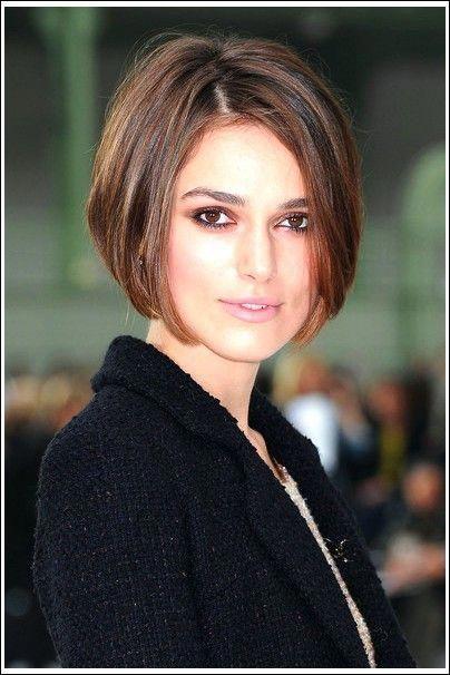 10 Beliebtesten Frisuren Von Keira Knightley Beliebtesten Frisuren Keira Kni Bob Hairstyles Short Hair Styles Short Bob Hairstyles