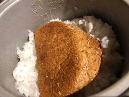 Fix Mushy Rice With Bread Food Piece Of Bread Entertainment Food