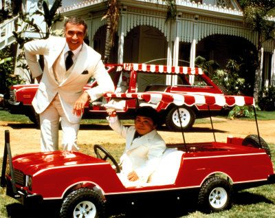 I loved Saturday nights as a kid.  First the Love boat, followed by Fantasy Island!  (Remember the scary cheerleader episode?)