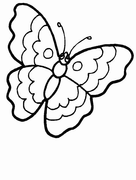 Simple Butterfly Coloring Page Luxury Free Simple Butterfly Coloring Pages Butterfly Coloring Page Coloring Pages Simple Butterfly