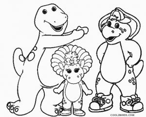 Free Printable Barney Coloring Pages For Kids Cool2bkids Cartoon Coloring Pages Halloween Coloring Pages Coloring Pages