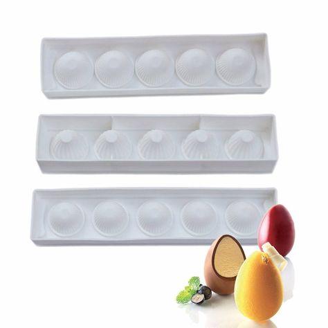6 Cavity Silicone Mold Stone Shape Mold Baking Mold Candy Mold