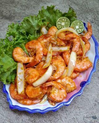 Udang Goreng Mentega Resep Masakan Resep Makanan Asia Resep Udang