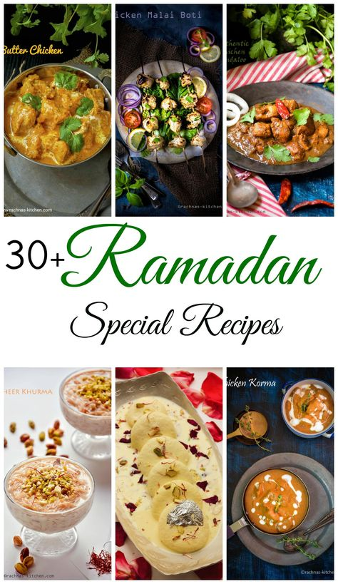 Find 30 + easy Ramadan special recipes with step by step