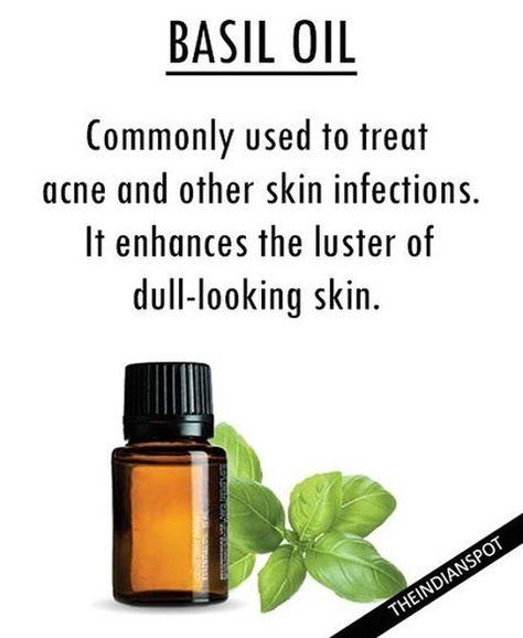bathoil Basil oil is used topically...