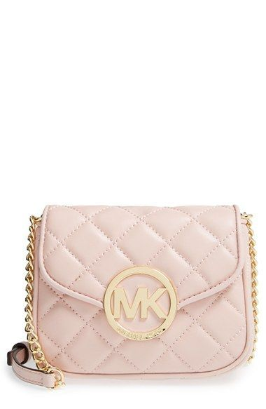 Michael Michael Kors Small Fulton Quilted Crossbody Bag Available At Nordstrom Handbags Michael Kors Quilted Crossbody Bag Crossbody Bag