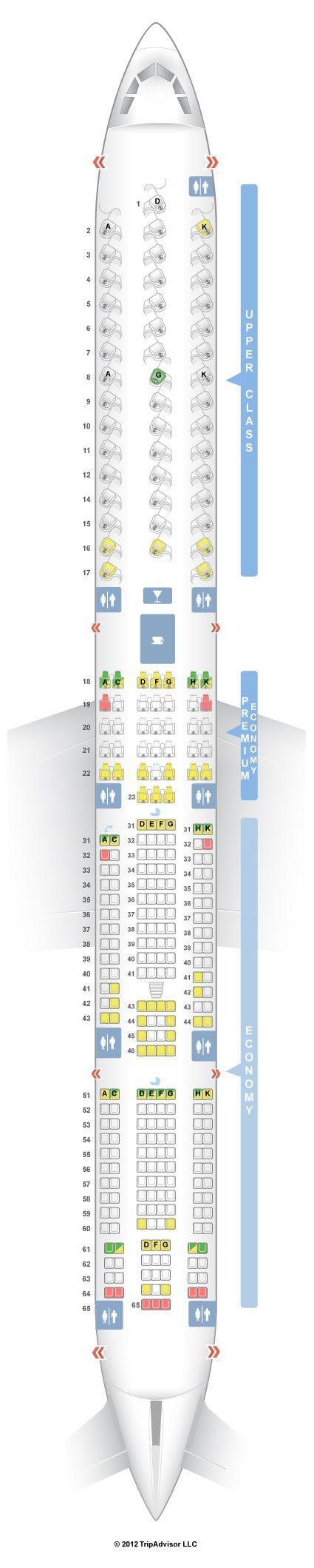 Delta 747 400 Seat 51a Brokeasshome Com
