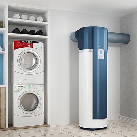 Vous Voulez Une Bonne Nouvelle Allez Le Credit D Impot Est Maintenu Sur Les Chauffe Eau A Energie Stacked Washer Dryer Washer And Dryer Home Appliances