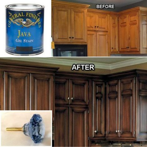Dark Light Oak Maple Cherry Cabinetry And Used Wood Kitchen Cabinets Check Pin For Many Wood Redo Kitchen Cabinets Diy Kitchen Cabinets Staining Cabinets