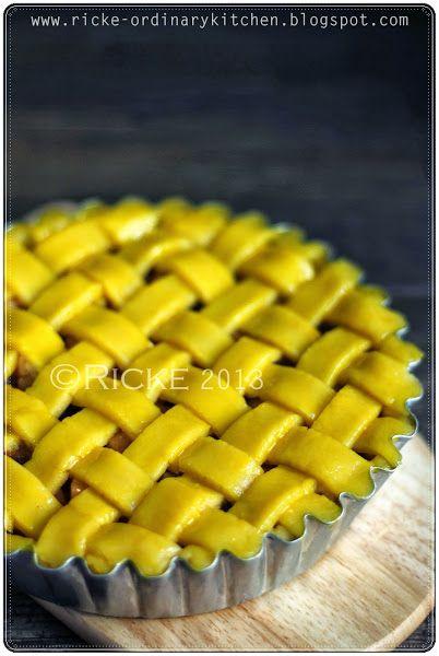 Just My Ordinary Kitchen Apple Pie Resep Pai Egg Tart Masakan