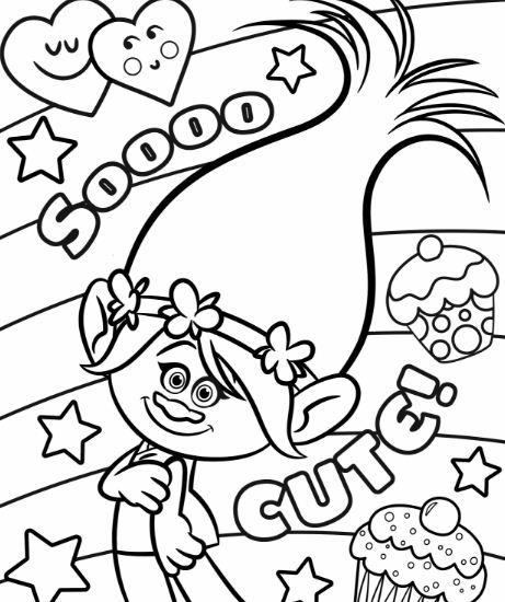 Trolls Coloring Pages Coloringpagesonly Com Poppy Coloring Page Disney Coloring Pages Free Disney Coloring Pages