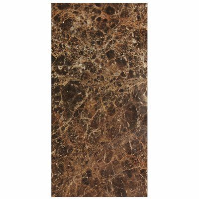 Seven Seas Dark Emperador 12 X 24 Marble Stone Look Wall Floor Tile Wayfair In 2020