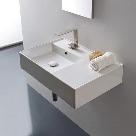 Nameeks Scarabeo 5114 Wall Mounted Bathroom Sinks Wall Mounted