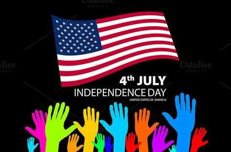 Independence Day seamless pattern Patterns - independence day flyer