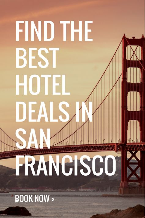 Search and compare on BookingBuddy now to find the best deals on hotels in San Francisco.