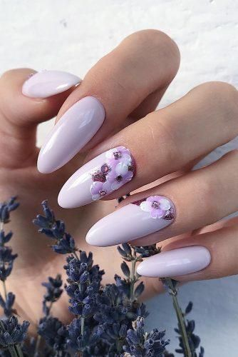The Best Wedding Nails 2021 Trends Lilac Nails Lilac Nails Design Nail Designs Spring