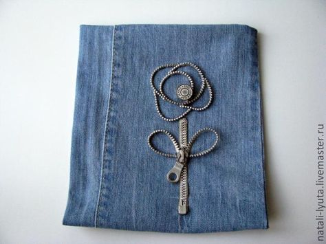 A small bag of jeans. Part Two - decoration - Fair Masters - handmade, handmade
