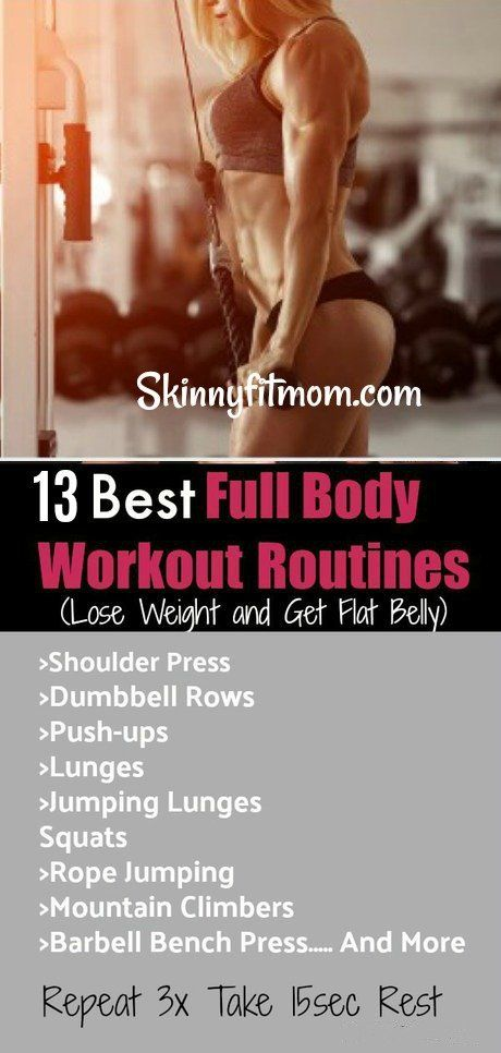 13 Effective No Gym Full Body Workout Routines (Lose Weight and Get