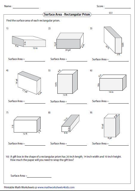 Worksheets Surface Area And Volume Of Cubes In 2020 Area Worksheets Area And Perimeter Worksheets Volume Worksheets