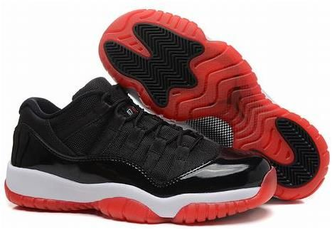Jordan XI(11) Low Black Red White 1414 | air jordan 11 for
