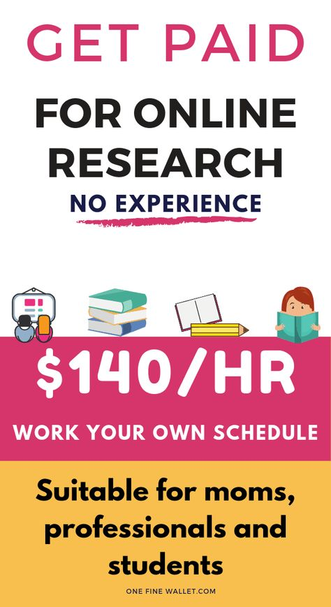 Respondent IO: Paid Research Studies up to $300/each