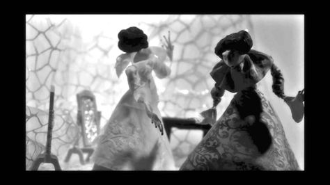 Stop Motion Animation Film Vanity In Black And White