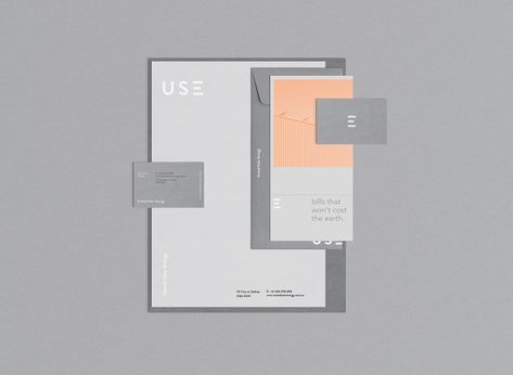 Beautiful brand identity for United Solar Energy suppliers of quality &…