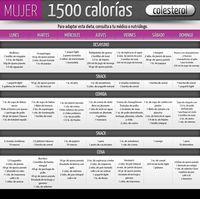Dieta 1500 calorias mexico