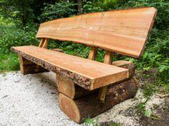 Massive Holzbank Selber Bauen Material Anleitung Tipps