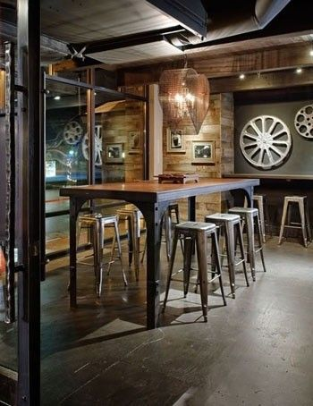 When The Industrial Style Meets The Vintage Trendy Home Decorations Coffee Shop Interior Design Cafe Interior Design Coffee Shops Interior