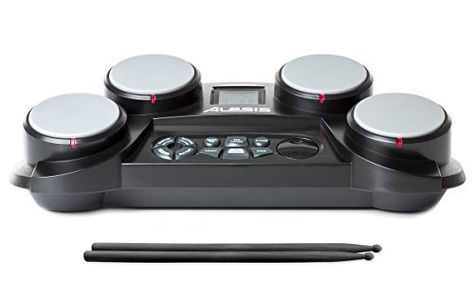 News Alesis CompactKit 4 Electronic Drum Pad    buy now     $79.00 The Alesis Compact Kit 4 is a tabletop electronic drum kit with everything a young drummer needs to sharpen their skil... http://showbizmusic.com/alesis-compactkit-4-electronic-drum-pad/