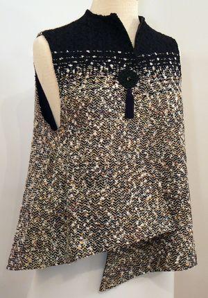 Handwoven Clothing, Vest, Kathleen Weir-West, 1-001.JPG