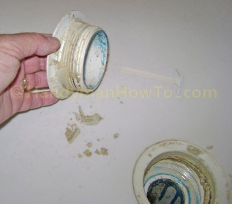 How To Fix A Leaky Shower Drain Diassemble The Drain Shower Drain Shower Drain