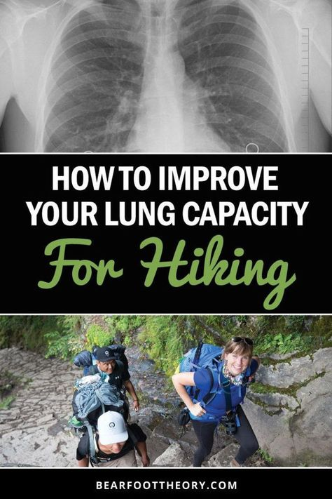 Learn four strategies to improve your hiking lung capacity so you can climb higher & farther without running out of breath. We'll also get you prepared for hiking at high altitudes and elevations where the air is thinner. tips Backpacking Tips, Hiking Tips, Hiking Gear, Hiking Backpack, Hiking Shoes, Ultralight Backpacking, Thru Hiking, Camping And Hiking, Camping Gear