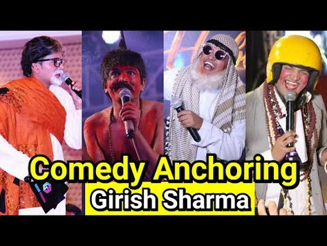 Comedy Anchor For Events Girish Sharma Anchoring Corporate Annual Day Hyderabad India 91 9769964451 Youtube Comedy Emcee Witty Remarks