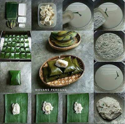 Resep Cara Membuat Kue Nagasari Pisang Resep Pisang Kue Pisang