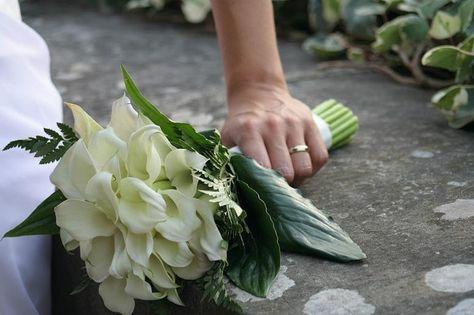 Bouquet Da Sposa Con Calle.Pinterest Pinterest