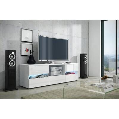 Spivey Entertainment Center For Tvs Up To 60 Meuble Sous Lavabo Decor De Television Centre De Loisirs