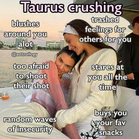 """TAURUS on Instagram: """"Repost @taurusimply --- Things we do around our crush ☺️ #taurusseason #libra♎️ #firesigns #tauruslife #ariesseason #taurusseason♉️…"""""""