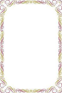 افضل إطارات للكتابة عليها في برنامج الوورد اطارات بحوت واجازاة Page Borders Design Frame Border Design Page Borders