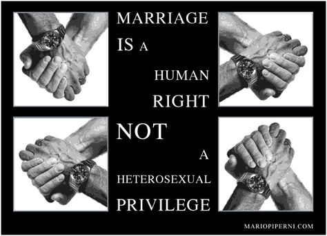 Gay marriage is a human right!
