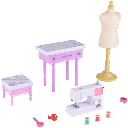 Toys My Life Doll Accessories Playset Girls Dollhouse