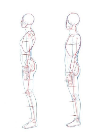 58 Ideas Drawing Poses Male Side View Figure Drawing Body Reference Drawing Human Figure Drawing