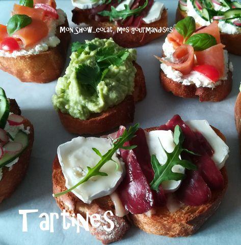 Tartines Gourmandes - Mon Show...colat, mes gourmandises